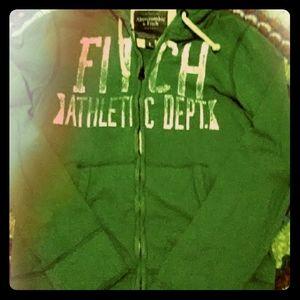 Green Abercrombie Hoodie